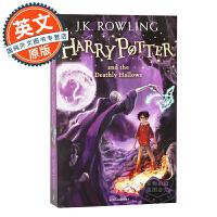 哈利波特与死亡圣器 英文原版 Harry Potter and the Deathly Hallows 英国版 进口图书 JK罗琳 青少年读物