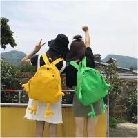 卡通书包女韩版原宿ulzzang 高中学生校园可爱 ins双肩包背包