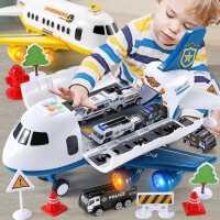 儿童玩具车模型合金小汽车飞机男孩益智宝宝小孩2-3-4-6周岁男童7