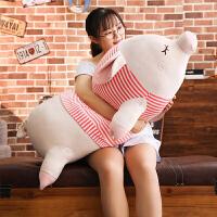 猪公仔毛绒玩具搞怪抱枕玩偶可爱女孩睡觉布娃娃萌生日