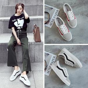 ZHR2018春季新款韩版小白鞋软妹运动鞋平底休闲鞋单鞋百搭女鞋M219
