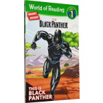This is Black Panther 黑豹 World of Reading 系列 Leve 1 漫威分级读物