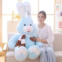 大号兔子毛绒玩具女生布娃娃公仔可爱睡觉抱枕玩偶女孩萌韩国懒人