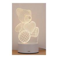 3D小台灯创意卡通床头卧室灯生日礼物LED婴儿喂奶起夜灯送爸爸妈妈父亲母亲老人生日礼品