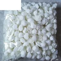 3cm仿真PE泡沫玫瑰花朵手工装饰花花环用花假花小花头整包约500个