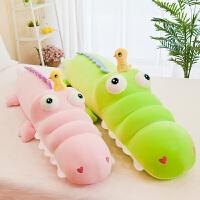 鳄鱼公仔大号毛绒玩具睡觉抱枕床上枕头可爱布娃娃玩偶生日礼物女