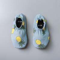 儿童沙滩鞋浮潜鞋游泳贴肤潜水鞋 男女宝宝婴儿学步家居鞋潮