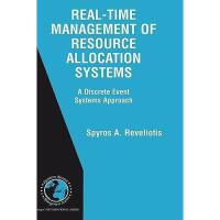 【预订】Real-Time Management of Resource Allocation Systems: