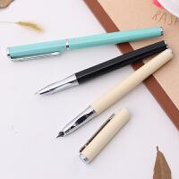 钢笔学生练字得力S661可吸墨可替换墨囊两用钢笔笔尖0.38mm