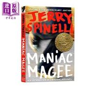 【中商原版】疯狂麦基 纽伯瑞奖 Maniac Magee 儿童经典文学故事 英文原版 12岁以上