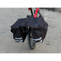 折叠自行车驼包防雨车架包骑行装备山地车后驮包长途后架包后座包