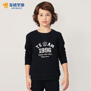 2018秋装新款男童卫衣裤两件套中大童运动休闲大码儿童卫衣套装
