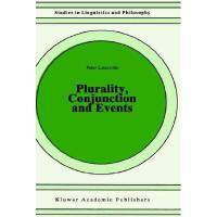 【预订】Plurality, Conjunction and Events