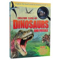 Creature Close-up Dinosaurs & Fossils恐龙及恐龙骨头知识 儿童读物画册 儿童书籍
