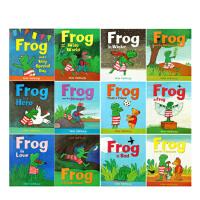 【正版直发】FrogIsFrog 青蛙弗洛格的成长故事套装12册 Max Velthuijs 978178344153