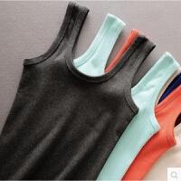 新品磨毛棉质背心 吊带衫双U领色背心韩版新款 女士打底背心 均码