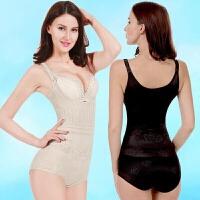 夏季舒适透气产后无痕收腹连体塑身衣衣美体束身内衣女裤