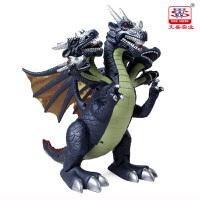 会走路的玩具恐龙玩具七头翼龙儿童电动仿真动物模型