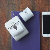 创意礼品 迷你打印机小型便携无线黑白照片口袋打印异地情侣浪漫恋爱礼物520礼物 创意打印机