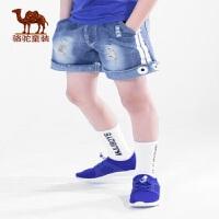 小骆驼男童鞋2019春夏新款儿童运动鞋男童网鞋跑步鞋女中大童潮鞋