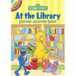 【预订】Sesame Street at the Library Sticker Activity Book