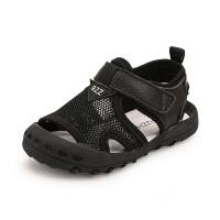 宝宝学步凉鞋新款网布透气包头男鞋子夏季女儿童鞋