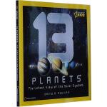 英文原版 National Geographic Kids 13 Planets 13颗行星 美国国家地理