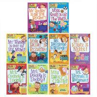 预售 英文原版 My Weird School 疯狂学校1-10册 美国小学推荐读物初级章节桥梁漫画书 搞怪的校园故事