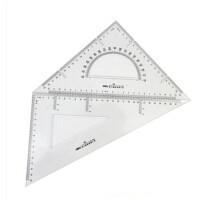 得力6430三角板 得力三角尺 得力30厘米三角板