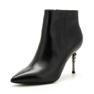 星期六(ST&SAT)冬季专柜同款牛皮革欧美风短靴SS74116663