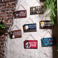 复古墙面门上软装饰品店铺餐厅奶茶店服装店墙壁挂饰挂件墙饰创意