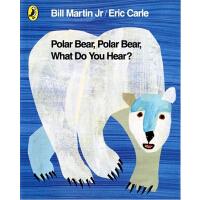 英文原版儿童书 Polar Bear Polar Bear What Do You See? PB 北极熊,北极熊,你