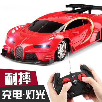 遥控汽车充电无线高速遥控车赛车漂移小汽车模电动儿童玩具车男孩