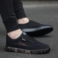 2018春季新款男鞋韩版潮流百搭男鞋学生休闲帆布鞋子男士潮鞋