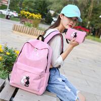 旅行双肩包儿童背包韩版小学生书包女童书包2-3-5-6年级女孩休闲