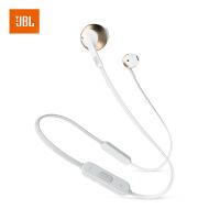 【当当自营】JBL TUNE205BT 香槟金 无线蓝牙耳机 运动耳机 T205BT半入耳式音乐耳机 带麦手机可通话