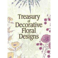 【预订】Treasury of Decorative Floral Designs