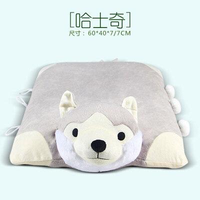 儿童乳胶枕头小孩动物玩具枕宝宝学生颈椎记忆枕芯2-6-12岁