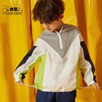 小虎宝儿男童外套洋气潮童2020春装新款儿童棒球服中大童韩版童装