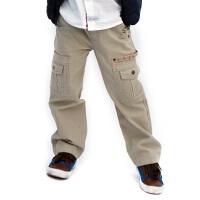 儿童裤子男童装新款冬装英格里奥中大童男童裤子休闲裤男童