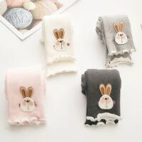 女童秋冬裤子儿童保暖棉裤1-3岁 婴儿 女宝宝加绒加厚打底裤外穿