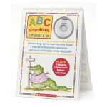 Scholastic 学乐 Abc Sing-Along Flip Chart Preak-1 附CD 儿童单词启蒙教