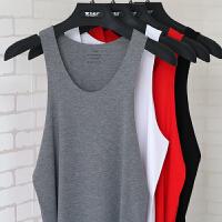 男士内衣莫代尔背心弹力修身无痕跨栏运动汗衫薄款夏季