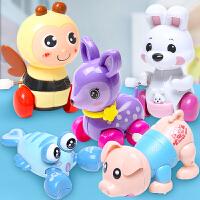 儿童上链发条玩具婴幼儿上弦宝宝会跑的玩具
