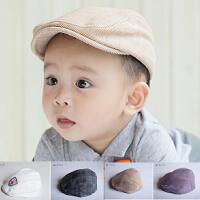 婴儿春秋帽宝宝鸭舌帽婴儿贝雷帽新生儿遮阳帽男童鸭舌婴儿帽童帽