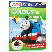 可擦写:托马斯和朋友们系列Thomas Wipe & Write Colours and Shapes 形状与颜色 低