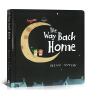 英文原版纸板书 The Way Back Home在回家的路 智慧小孩系列:天上人间 Oliver Jeffers 奥利弗杰弗斯 启迪智慧绘本友谊 承诺 理想