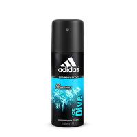 阿迪达斯(adidas) 男士止汗系列 香体香水止汗露止汗喷雾走珠 Dive-冰点-止汗喷雾150ml