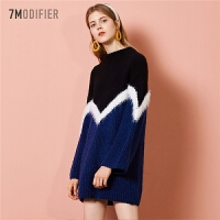【限时秒杀价:298】针织衫女新款韩版套头长袖外穿宽松打底保暖毛衣羊毛衫