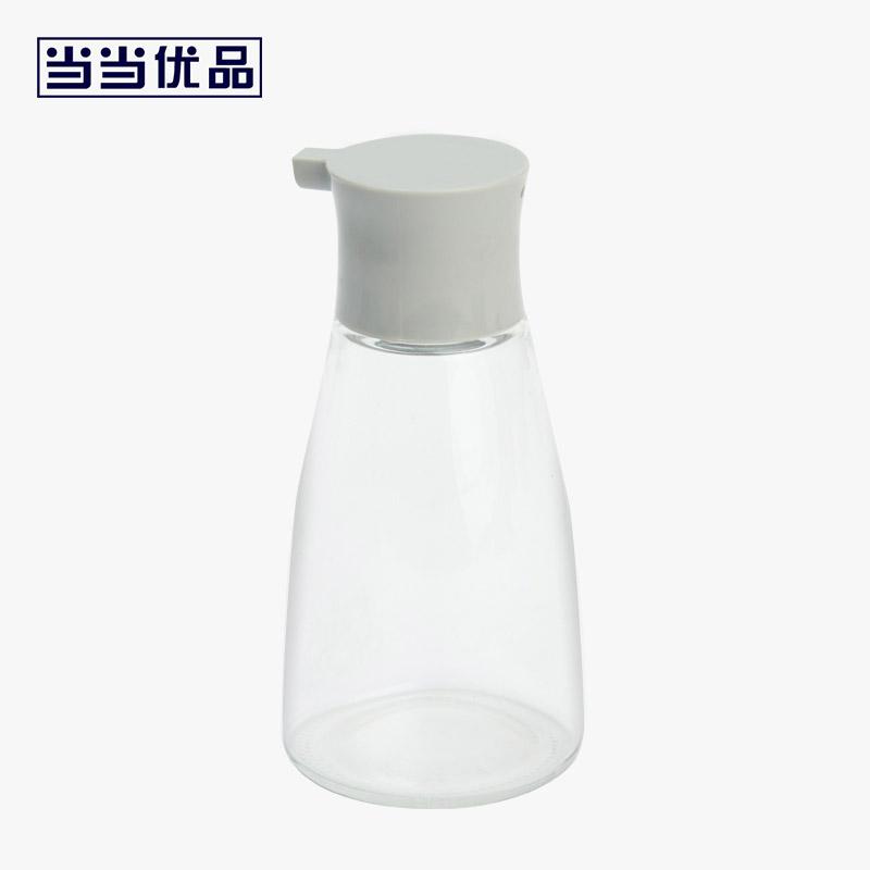 当当优品 小号厨房玻璃调味瓶 防漏油瓶酱油瓶醋瓶 灰盖 150ml当当自营 透气孔设计,精准倒油,安全健康高硼硅玻璃